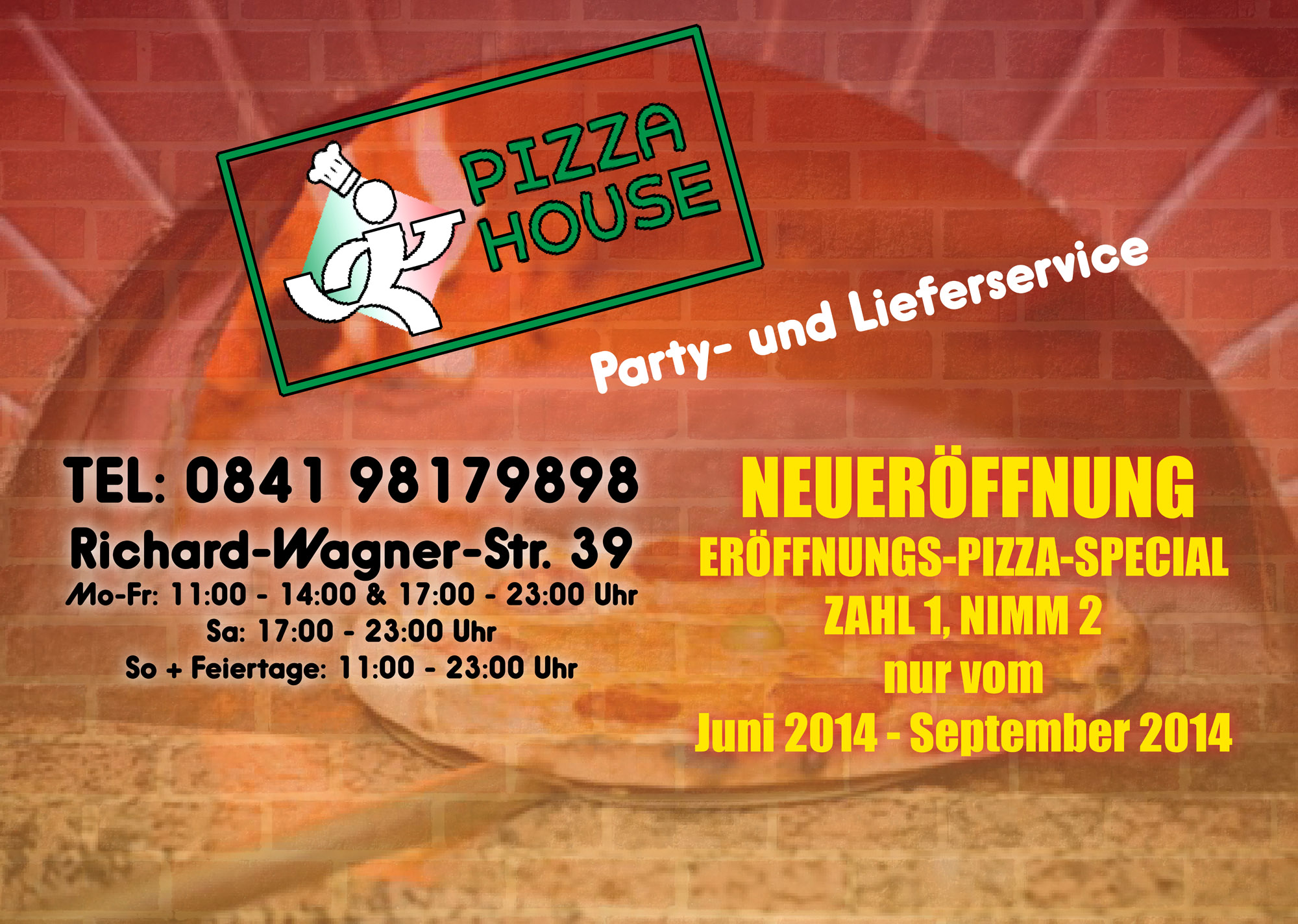PizzaHouse Flyer